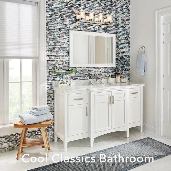 Cool Classics Bathroom