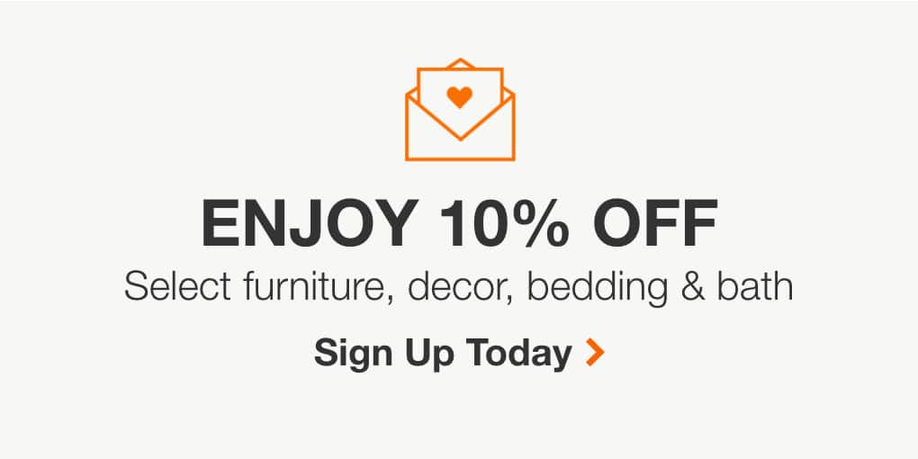 Home Decor Email Signup