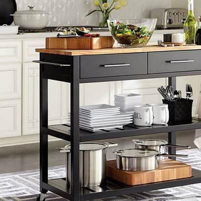 Multitaskers Kitchen Carts