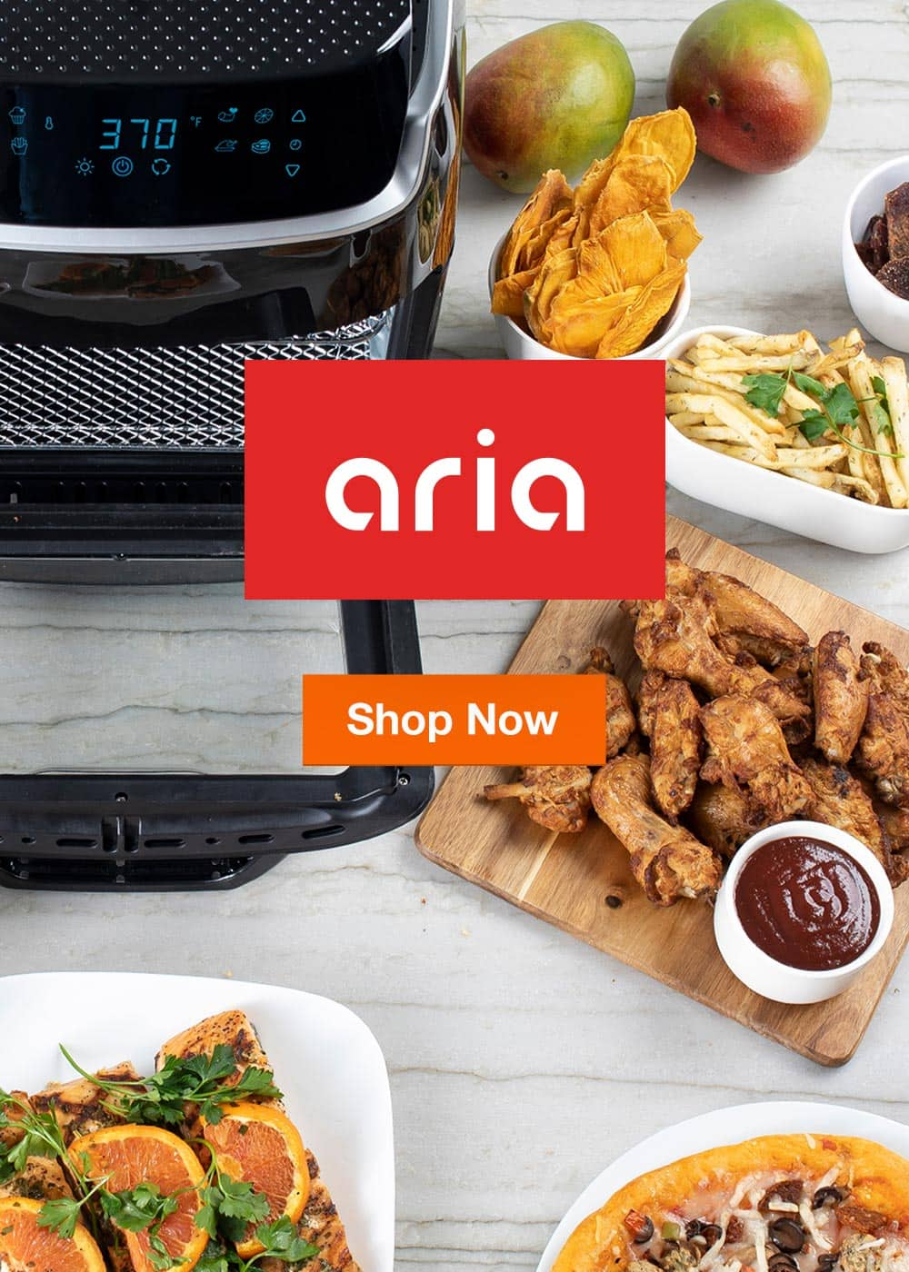 Shop All Aria Air Fryers