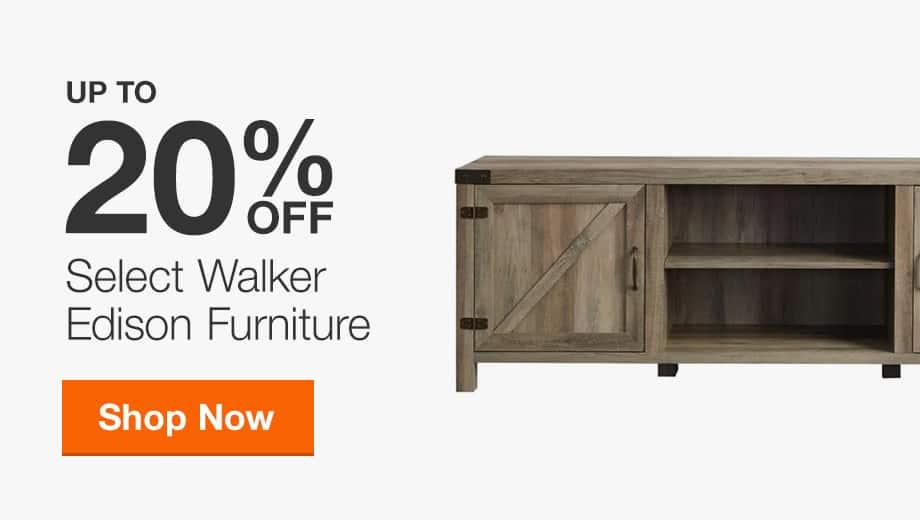 Up to 20% off Walker Edison Furniture