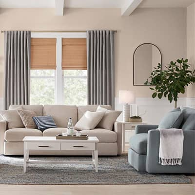 Soothing Styles Living Room