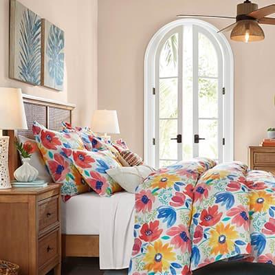 Bold & Bright Bedroom