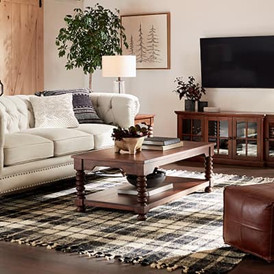 Classic Casual Living Room