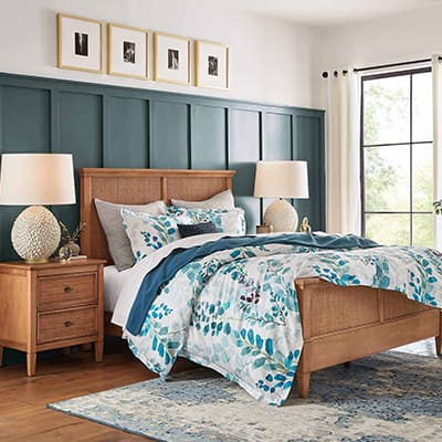 Airy Organic Bedroom