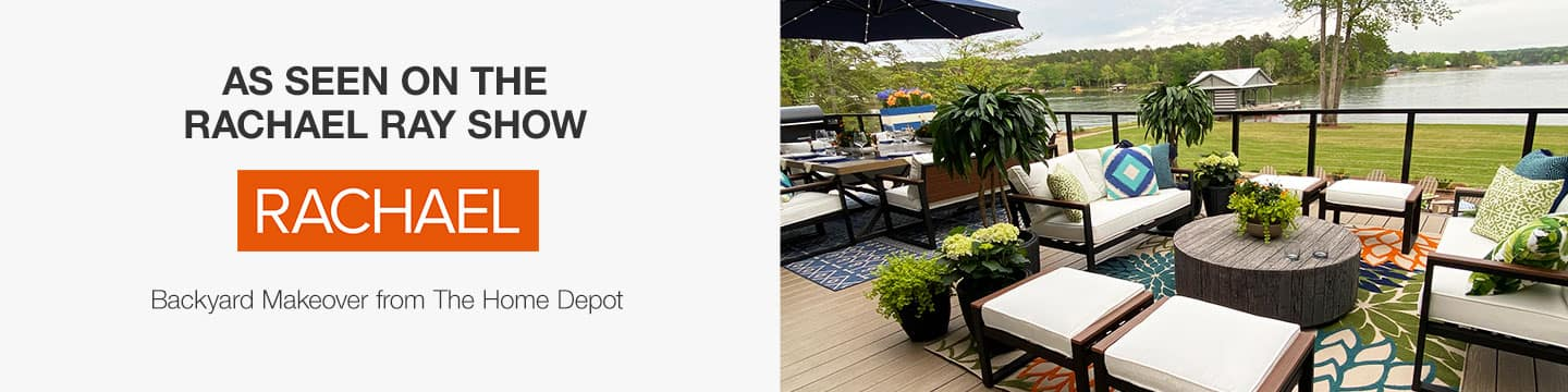 Rachael Ray Backyard Makeover from The Home Depot