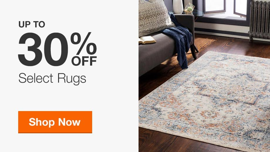 Up to 30% Off Select Rugs