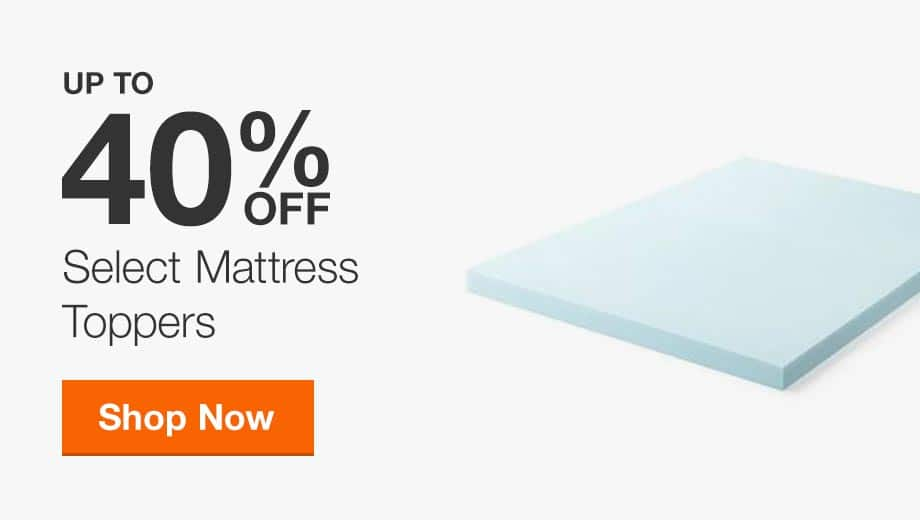 Up to 40% Off Select Mattress Toppers