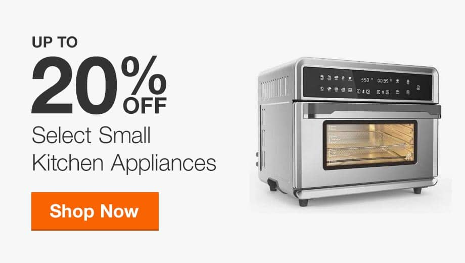Up to 20% Off Select Small Appliances