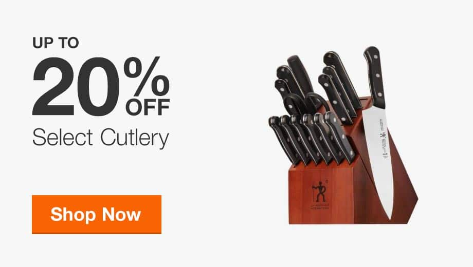 Up to 20% Off Select Cutlery