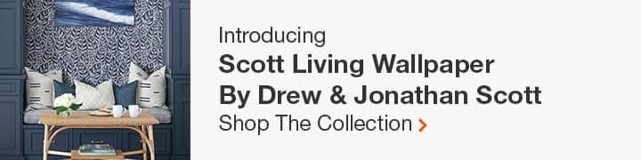 Introducing the Scott Living Wallpaper by Drew & Jonathan Scott
