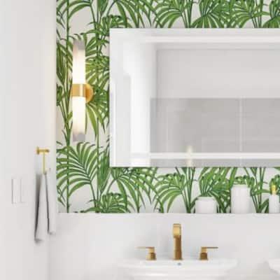 Botanical Oasis Bathroom
