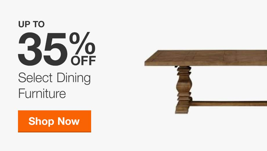 Up to 35% Off Select Dining Furniture