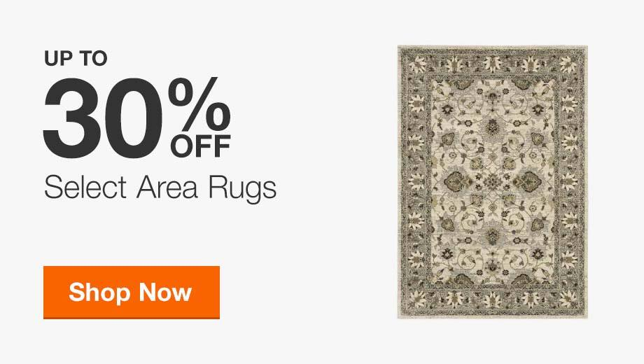 Up to 30% Off Select Area Rugs