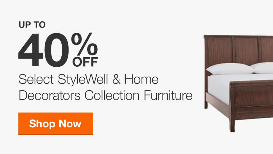 Up to 40% Off StyleWell and Home Decorators Collection Furniture