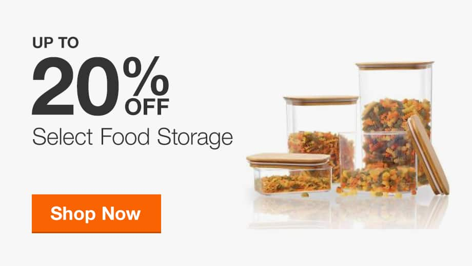 Up to 20% Off Select Food Storage