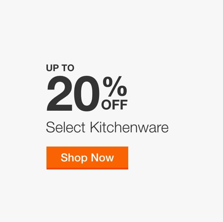 Up to 20% Off Select Kitchenware