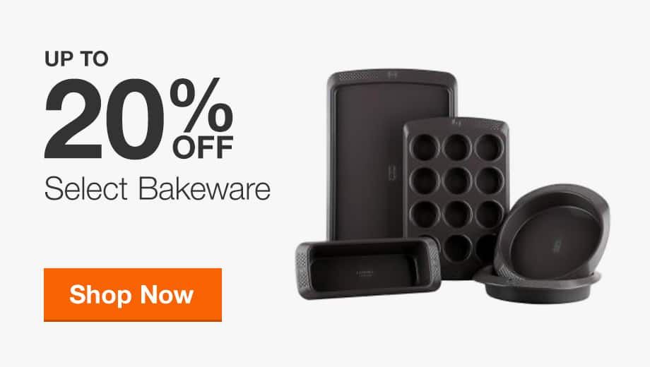 Up to 20% Off Select Bakeware