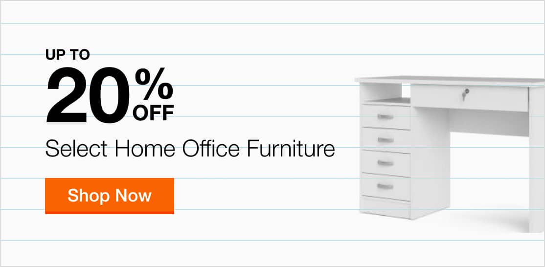 Up to 20% Off Select Home Office Furniture