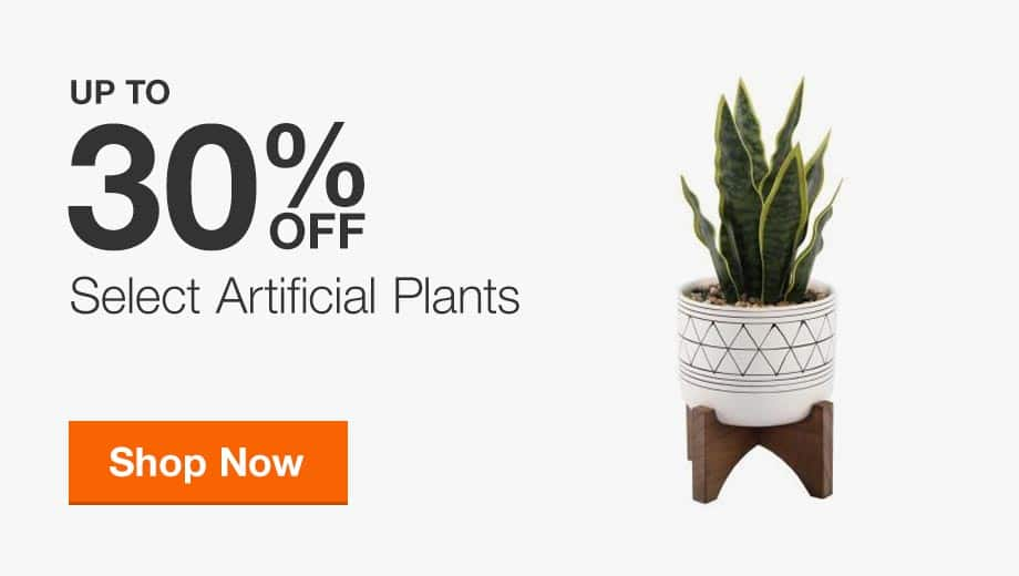 Up to 30% Off Select Artificial Plants
