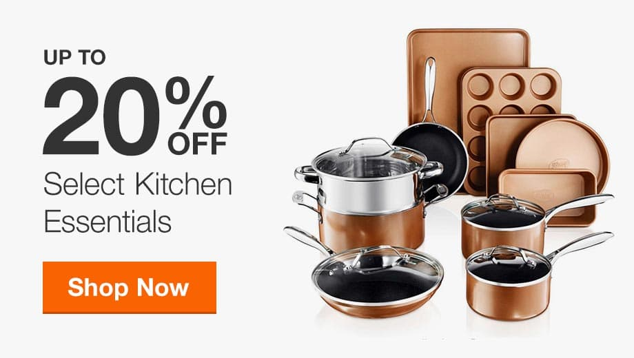 Up to 20% Off Select Kitchen Essentials