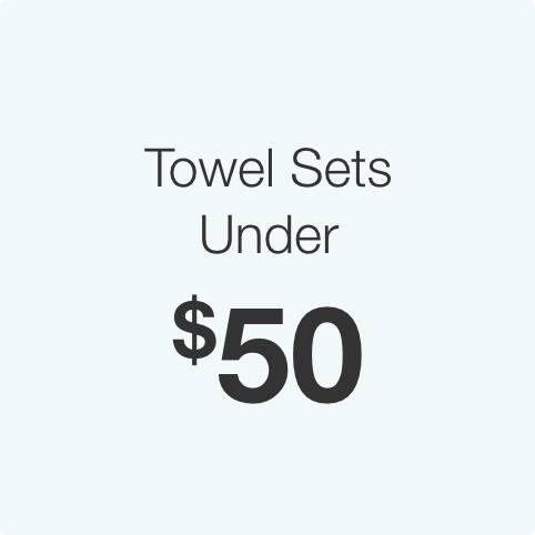 Towel Sets Under $50