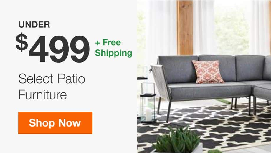 Select Patio Furniture Under $499 + Free Shipping