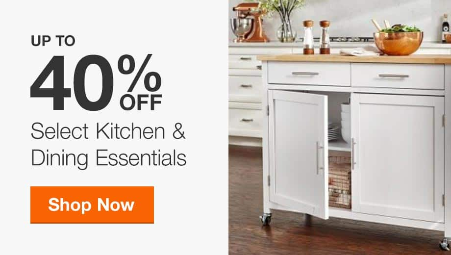 Up to 40% Off Select Kitchen & Dining Essentials