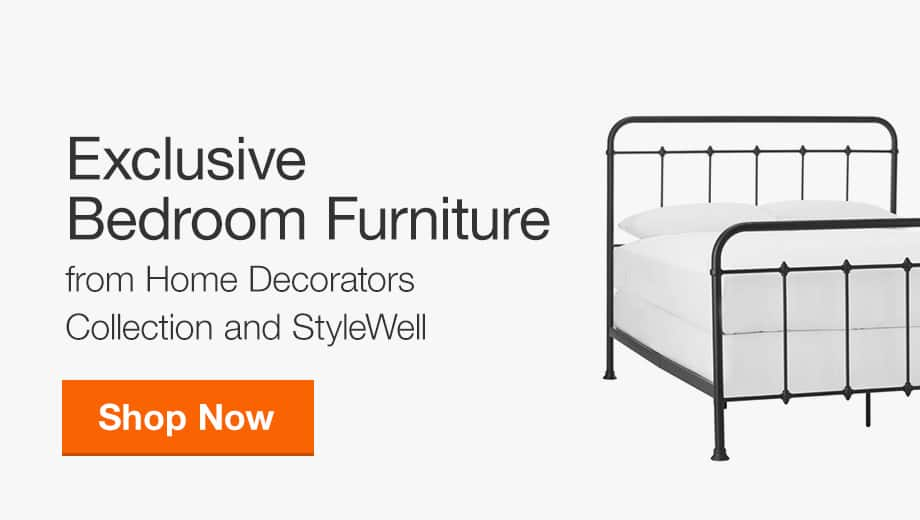 Shop Exclusive Bedroom Furniture from Home Decorators Collection and StyleWell