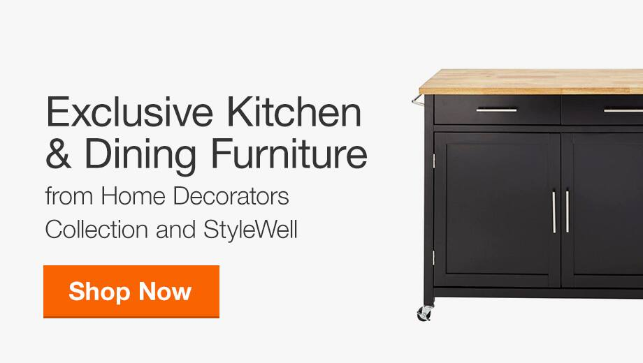 Shop Exclusive Kitchen & Dining Furniture from Home Decorators Collection and StyleWell
