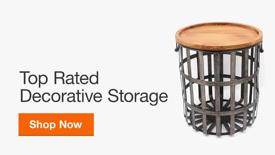 Shop Top Rated Decorative Storage