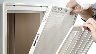 How to clean a air conditioner filter
