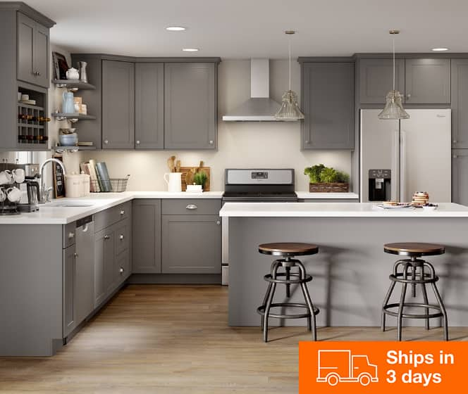 Kitchen Cabinets Color Gallery, Kitchen Cabinet Cost Home Depot
