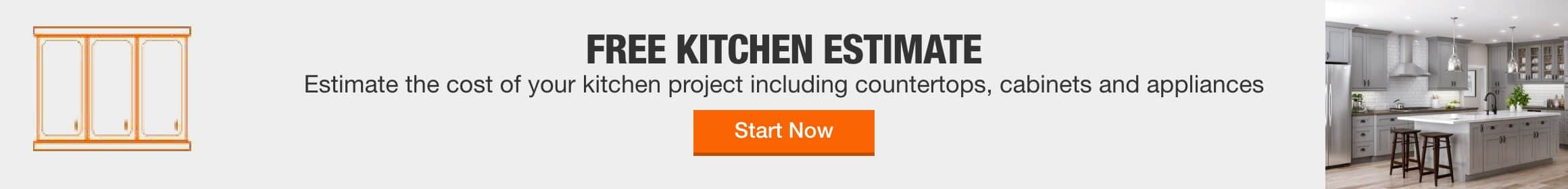 free kitchen estimate