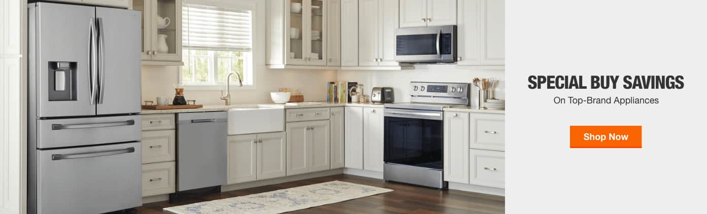 SPECIAL BUY SAVINGS on Top-Brand Appliances