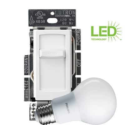 LED?CFL compatible dimmers
