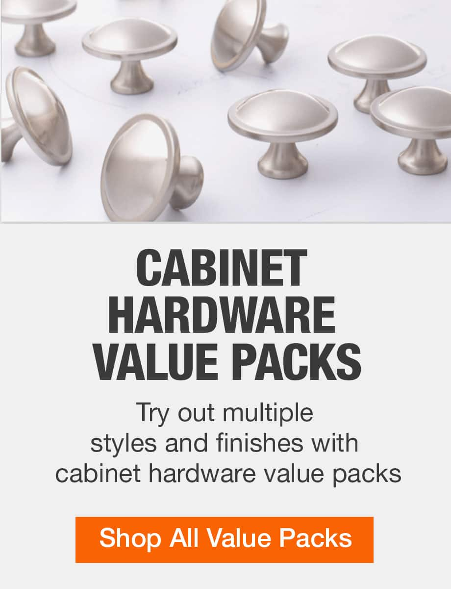 Cabinet Hardware The Home Depot, Home Depot Hardware For Cabinets And Drawers