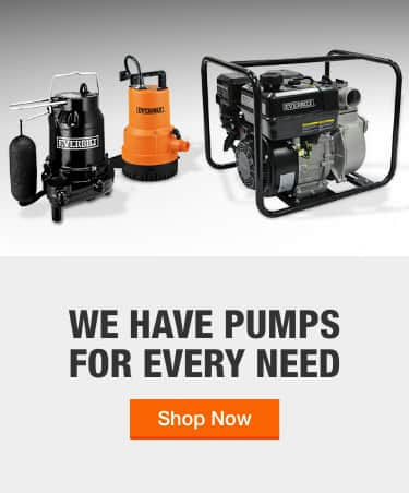 Water Pumps The Home Depot