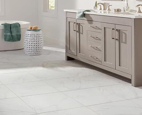 Marble-Look Tile