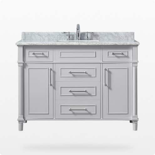 Bath vanities 42 to 49 inches wide