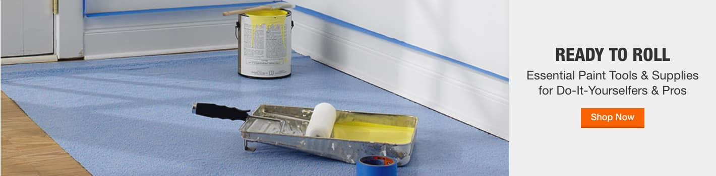 Essential Paint Tools & Supplies for Do-It-Yourselfers & Pros