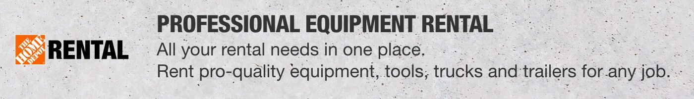 Professional Equipment Rental - All your rental needs in one place