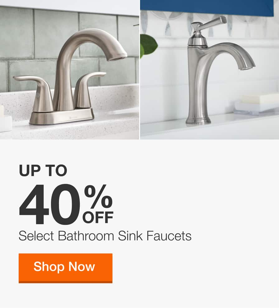 Bathroom Sink Faucets The Home Depot