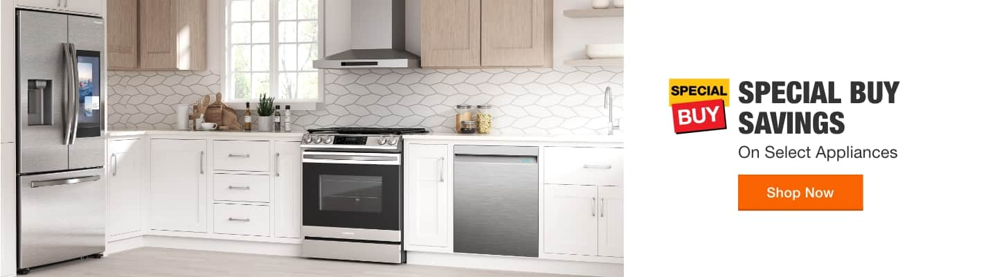 Special Buy Savings on Select Appliances.