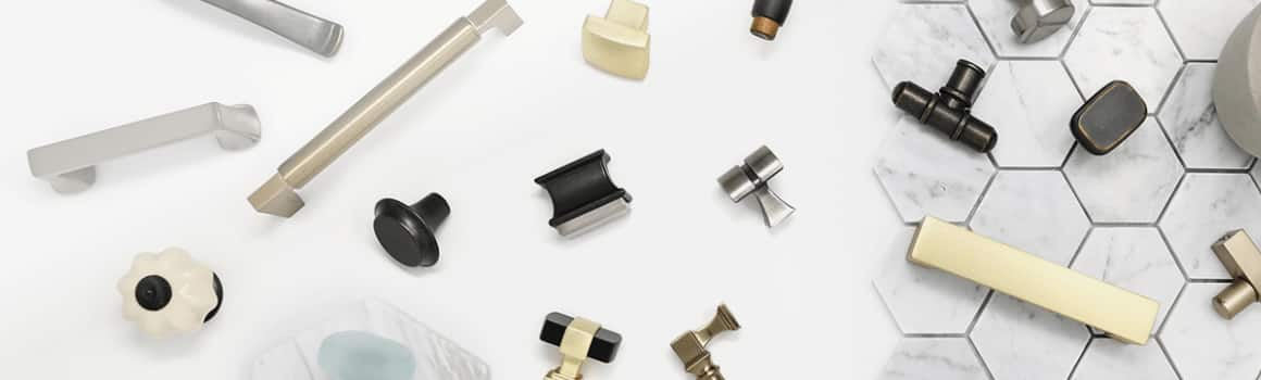 Find the perfect cabinet hardware for your space