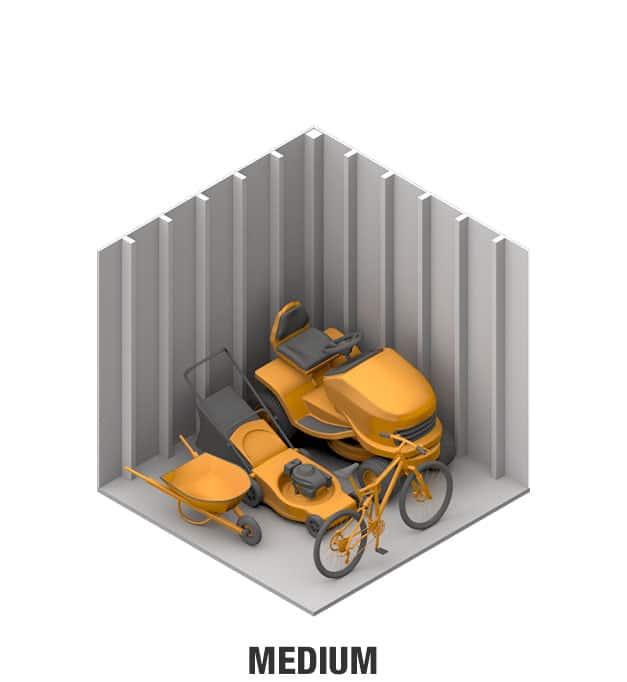 Medium sheds