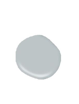 Silver blue sea