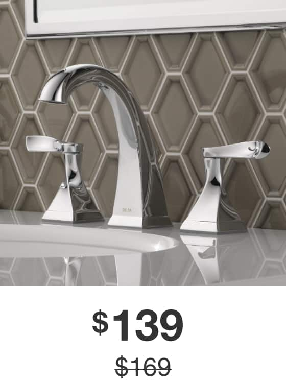 Everly 8 in. Widespread Bathroom Faucet in Chrome Finish