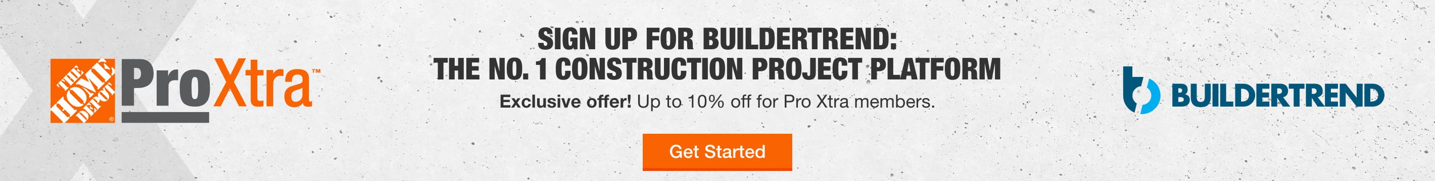 Sign up for BUILDERTREND; The NO. 1 construction project platform