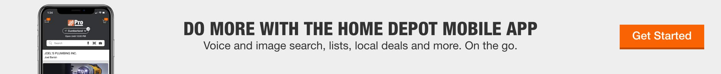 Do More With The Home Depot Mobile App